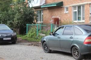 Подготовка парковки авт . дом 25
