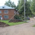 дом 29 ул. Ленина, подготовка для парковки авт.