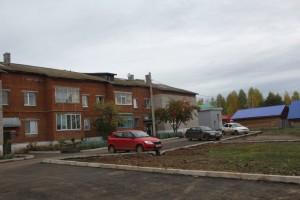 Парковка на ул.Октябрьская,56
