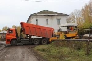 Ремонт дворовой территории на ул. Ленина